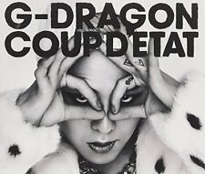G-DRAGON (from BIGBANG) COUP D'ETAT [+ONE OF A KIND & HEARTBREAKER]2CD+DVD Japan