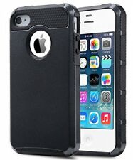 4S Case,iPhone 4S Case, iPhone 4 Case,ULAK Dual Layer Hybrid Slim Hard Case