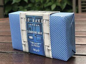 Men's TED BAKER London Cleansing Bar Soap - 150g - New in Packaging