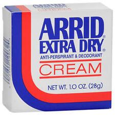 Arrid Extra Dry Antiperspirant and Deodorant Cream 1 oz. (3 Pack)