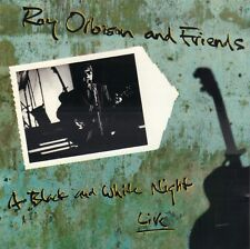 ROY ORBISON AND FRIENDS - A BLACK AND WHITE NIGHT LIVE (1989 UK CD)