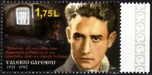 MOLDOVA 2021-01 Famous People, Religion: Gafencu, Priest. Saint of Prisons, MNH