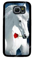 ARABIAN WHITE HORSE PHONE CASE COVER FOR SAMSUNG NOTE & GALAXY S4 S5 S6 S7 S8 S9