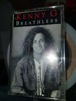 Breathless by Kenny G (Cassette, Arista)