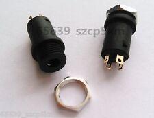 "10PCS 3.5mm 1/8"" Mini Female Headphone Jack Plug Stereo Audio Panel Mount 4pin"