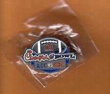 2009 Chick Fil A Bowl Game Lapel Pin Virginia Tech Hokies Tennessee Vols pkgd