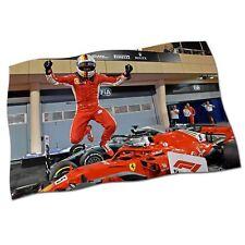 "Sebastian Vettel Fahne Banner 25"" NEU 2018 Ferrari Formel 1 F1 Stoff Poster #4"