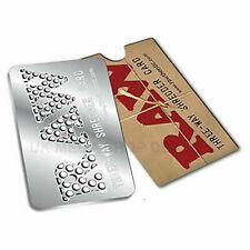 Authentic Three Way Raw Shredder Grinder Card UK SELLER