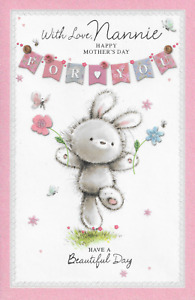 NANNIE On Mothers Day - Thank you for Everything You Do!  Med/Large Card J 75