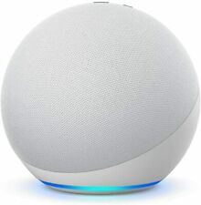Amazon Echo белый ледник 4 -го поколения премиум звуком умный дом концентратор Алекса