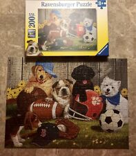 Ravensburger Puppy Dog Let's Play Ball 200 XXL piece Jigsaw Puzzle