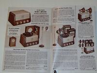 VTG 1949 ALLIED RADIO ELECTRONICS CATALOG! BUILD YOUR OWN TV! TUBE AMPS/RADIOS++