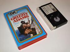 Betamax Video ~ The Life and Times of Grizzly Adams ~ Ex-Rental Pre-Cert ~ EVC