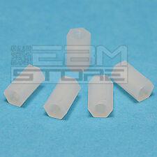 5 pz distanziale plastico F-F M3 10mm distanziali distanziatore - ART. GV01