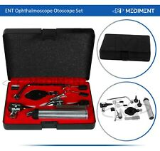 New Listingent Ophthalmoscope Amp Otoscope Diagnostic Setearnose Ampthroat Set With Hard Case
