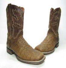 "Dan Post 11"" Denver Cowboy Certified Exotic Boots, Mens Size:8.5 Medium (B500)"