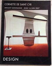 Cornette De Saint Cyr Design 1950 thru 2000 - June 2007