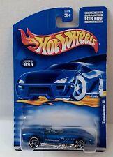 Hot Wheels 2001 Collector 098 Thomasimma III Blue pr5 China