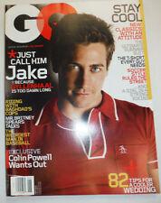 GQ Magazine Jake Gyllenhaal June 2004 030715R