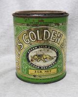 Vintage Lyle's Golden Syrup 2 lb Net Tin