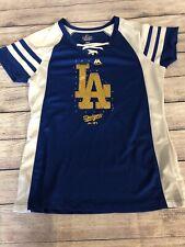 Majestic Women's LA Dodgers Bling Baseball  Fashion Jersey M