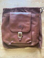 Cristina Rui Leather Backpack - brown - Pristine condition
