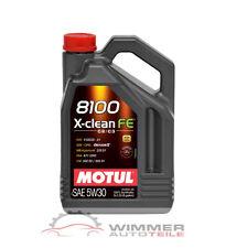 1x 5 litri MOTUL 8100 X-Clean FE 5w30 olio motore Dl MOTORE OLIO pieno per sintesi c2 c3