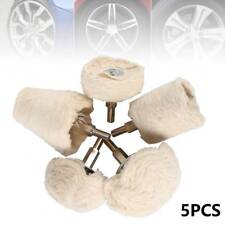5Pcs Polishing Buffing Pad Mop Wheel Drill Kit for Manifold Aluminum Stainless