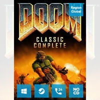 Doom Classic Complete for PC Game Steam Key Region Free