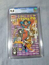 New Mutants #100 (1991), Rob Liefeld, 1st App Of X-Force / Shatterstar, CGC 9.0