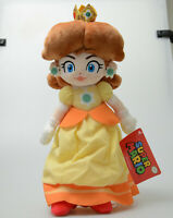"Nintendo Princess Daisy Large 12"" Plush Stuffed Doll Toy Super Mario Plush New"