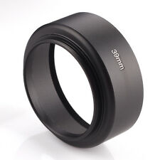 Universal 39mm Metal Lens Hood Shade 39 mm Filter Thread Standard Screw in Mount