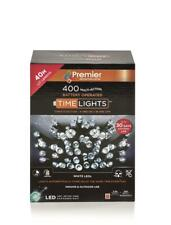 400 M-A B-O WHITE LED LIGHTS WITH TIMER