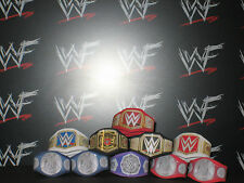 10 x Custom WWF WWE NXT Title Belts For Hasbro Mattel Jakks Wrestling Figure ECW