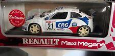 Anson 1/18 Renault Maxi Megane #21 Sanremo Rally 1997