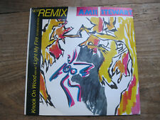 "EX  AMII STEWART - Knock On Wood / Light My Fire - remix - 7"" single EX"