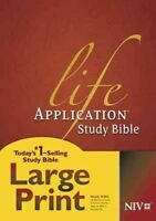 Life Application Study Bible : New International Version, Hardcover by Tyndal...