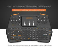 i8 2.4GHz Wireless Keyboard Funk Mini Tastatur Air Mouse Touchpad für TV PC EGM