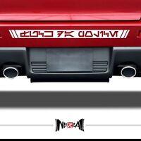 CUSTOM AUREBESH  LETTERING Star Wars Vinyl Sticker Decal Car Wall City Name Text