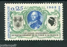 FRANCE 1968 timbre 1572, Armoiries Corse, neuf**