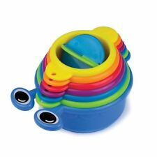 Munchkin Caterpillar Spillers 7 Colorful Bath Cups Baby Fun Toy