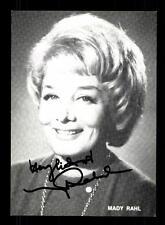 Mady Rahl Autogrammkarte Original Signiert # BC 89731