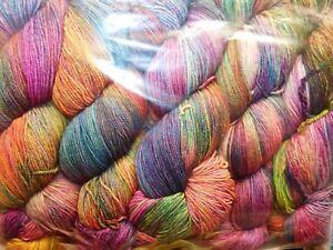 Painterly ARCO IRIS 100g 440yd Skein Malabrigo SOCK Soft SW MERINO WOOL Fgr YARN