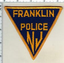 Franklin Police (New Jersey) Shoulder Patch from 1985