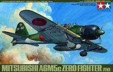 Tamiya 61027 1/48 Model Kit Mitsubishi A6M5c Type 52 Hei Zero Fighter(Zeke)