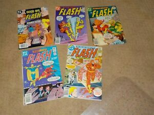 Lot Of 5 The Flash Comic Books #306