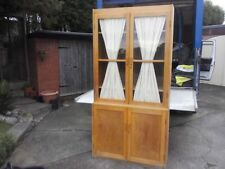 More than 200cm Height Solid Wood Unbranded Display Cabinets