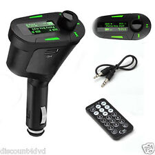 FM Radio Transmitter Car MP3 Music Player Wireless Modulator With USB SD Port UK