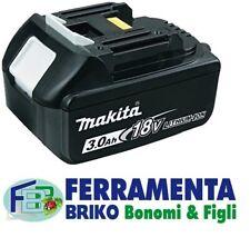 BATTERIA ORIGINALE MAKITA BL1830B 18V 3Ah CON LED INDICATORE DI CARICA