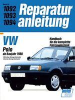 VW Polo ab 1988  Reparaturanleitung Reparatur-Handbuch Reparaturbuch Buch Book
